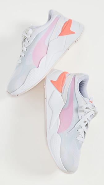Women's Rs-x Plas Tech Low-top Sneakers In Rosewater