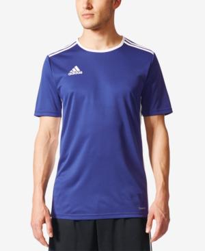 Adidas Originals Adidas Men's Entrada Climalite Soccer Shirt In ...