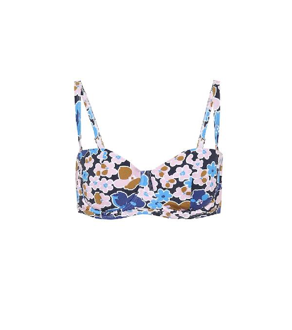 Alexandra Miro The Madonna Bikini Top In Multicoloured   ModeSens