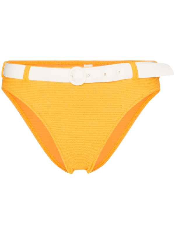 belted swimsuit bottoms