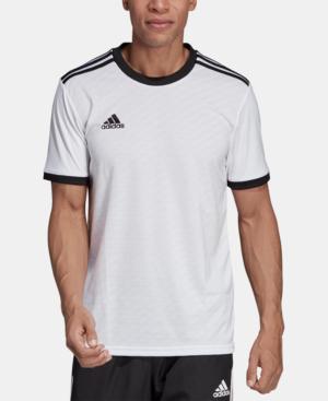 Adidas Originals Adidas Men's Tiro 19 Climalite Soccer Jersey In ...