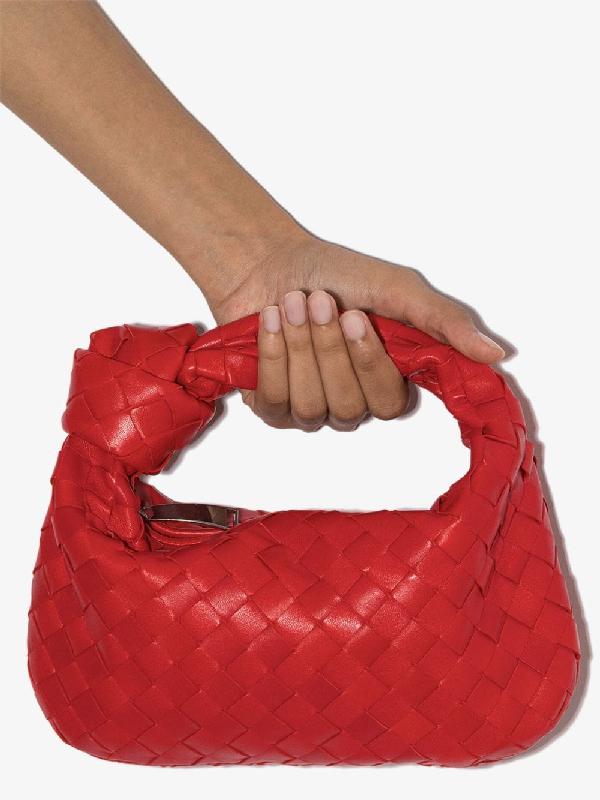 Bottega Veneta Bv Jodie Small Intrecciato Leather Hobo Bag