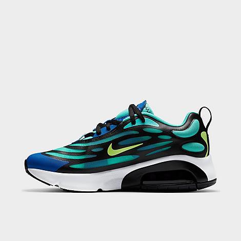 Nike Boys' Big Kids' Air Max Exosense Casual Shoes In Blue ...