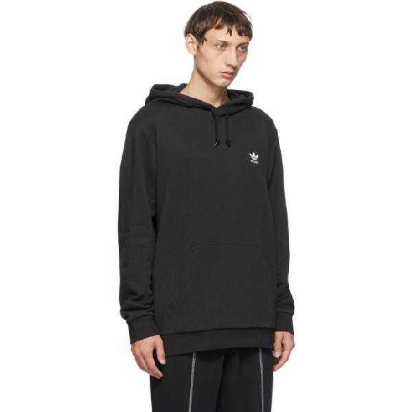 Adidas Originals Essential Logo-embroidered Loopback Cotton-jersey ...