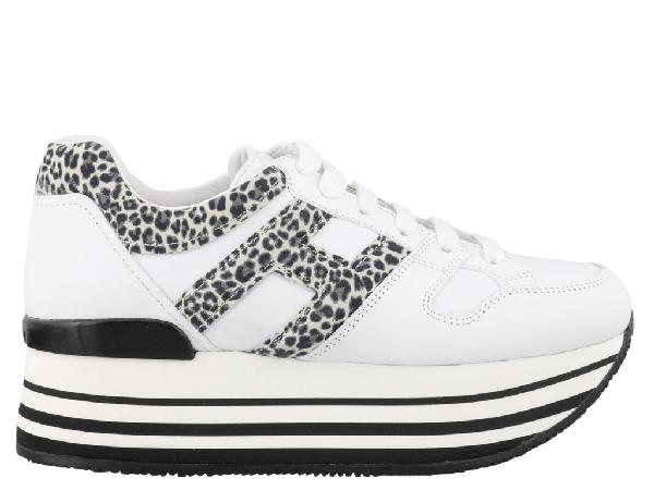 Hogan Maxi Platform H283 Sneakers In White   ModeSens