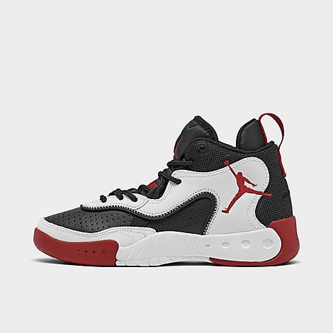 Jordan Boys' Big Kids' Jordan Pro Rx Casual Shoes In White/gym Red/black