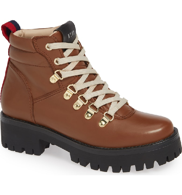 85a0f4c53bc Steve Madden Buzzer Boot In Cognac Leather