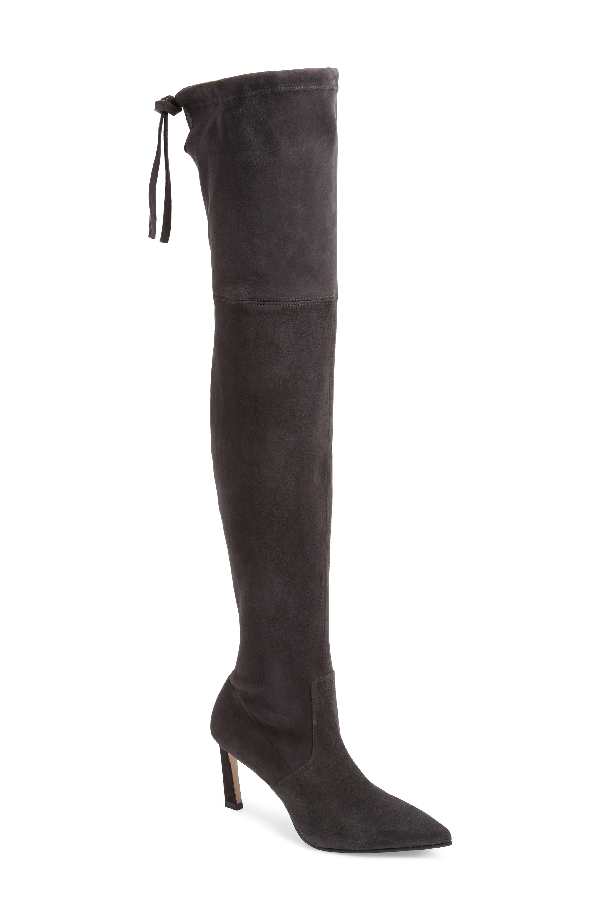 e0b827931d5 Stuart Weitzman Natalia 75Mm Suede Over-The-Knee Boots In Brownstone ...
