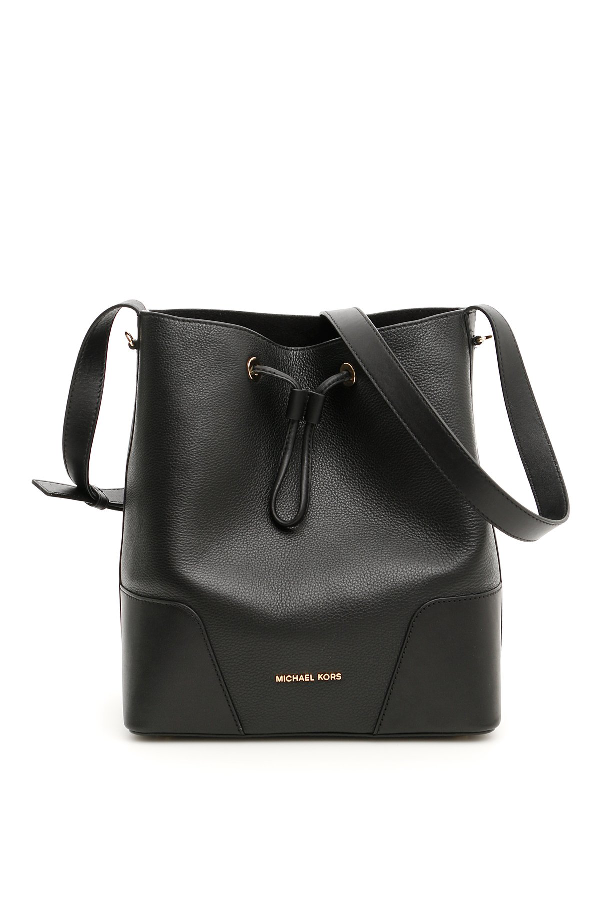 b35d652e980e0b Michael Michael Kors Cary Bucket Bag In Black | ModeSens