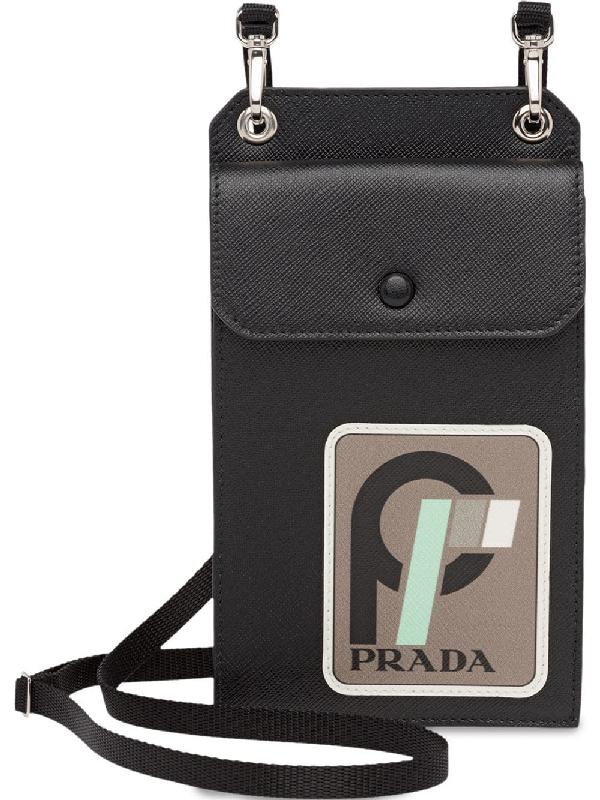 ce973dcdaedd Prada Saffiano Iphone Case In Black | ModeSens