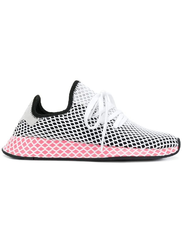 new concept e293d fc290 Adidas Originals Sneakers Adidas Deerupt Runner W Sneakers In Knit And Mesh  Stretch Net Effect In