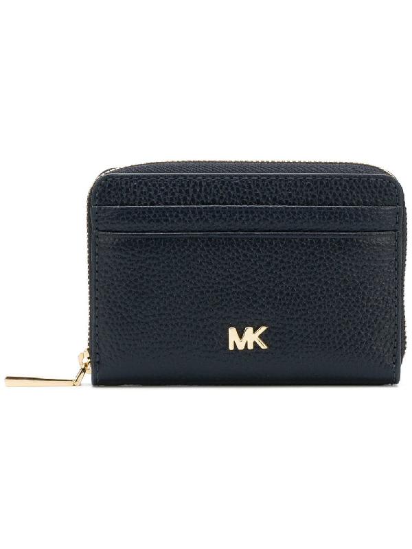 bc7bd0d63856 Michael Michael Kors Mercer Small Wallet - Blue | ModeSens
