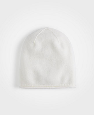 65dae01a73386 Ann Taylor Cashmere Hat In Winter White