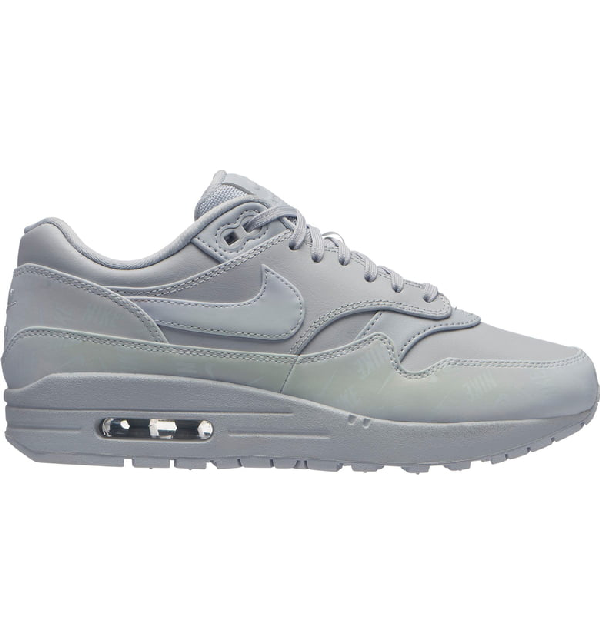 a838e0c8408 Women's Air Max 1 Lux Casual Shoes, Grey
