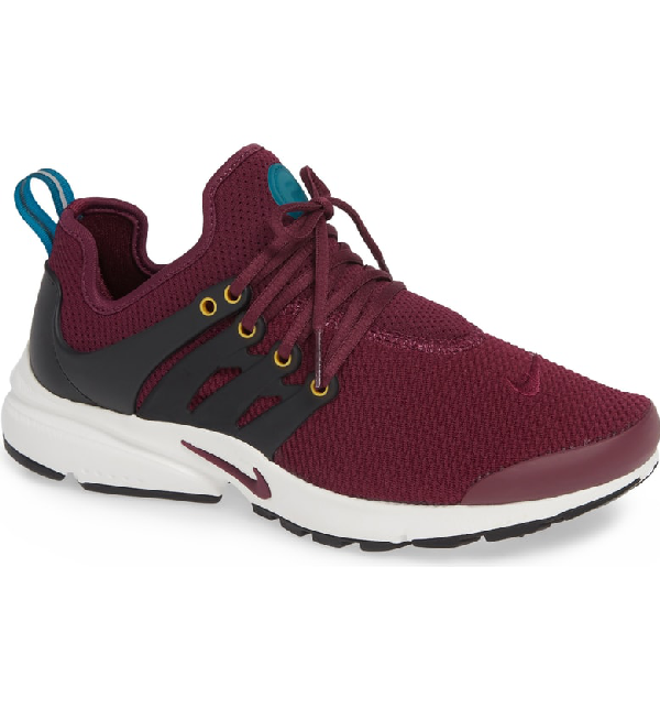 e834c144885 Nike Air Presto Sneaker In Bordeaux  Black-Geode Teal