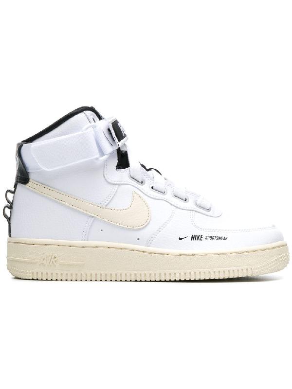 ef4e5ec87d Nike Women's Air Force 1 High Utility Casual Shoes, White | ModeSens