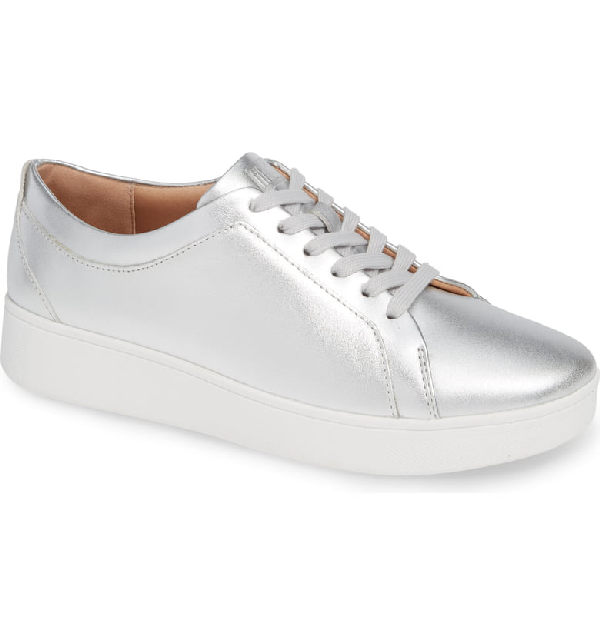 5e063cf0f45ad Fitflop Rally Sneaker In Silver | ModeSens