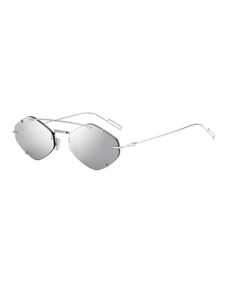 e4b2191d4 Dior Men's Inclusion Rimless Mirrored Sunglasses In Gray | ModeSens