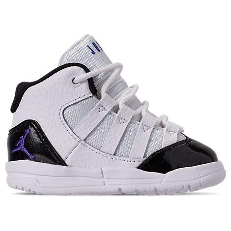 meet b90ab 4f664 Jordan Boys' Toddler Jordan Max Aura Basketball Shoes, White - Size 5.0