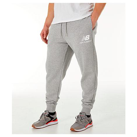 de59d9cb65db2 New Balance Men's Essentials Brushed Sweatpants, Grey | ModeSens
