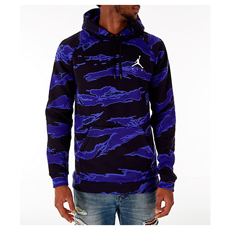 d0d57a698564 Nike Men s Jordan Sportswear Camo Flight Fleece Hoodie