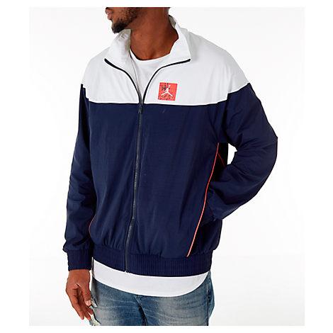 6977177d1c36 Nike Men s Air Jordan Tinker Legacy Starter Jacket