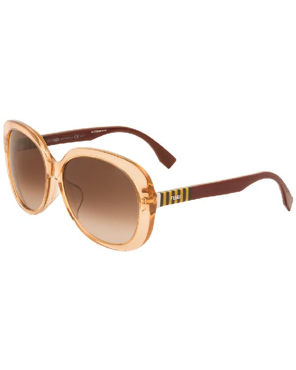 028a15aa70e Fendi 0073 F S 59Mm Sunglasses In Nocolor