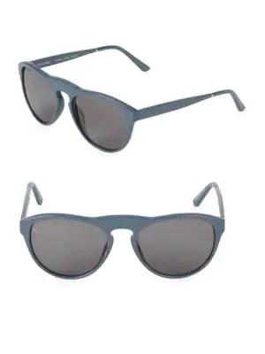 Smoke X Mirrors Outta Space 51Mm Cat-Eye Sunglasses In Milky Grey