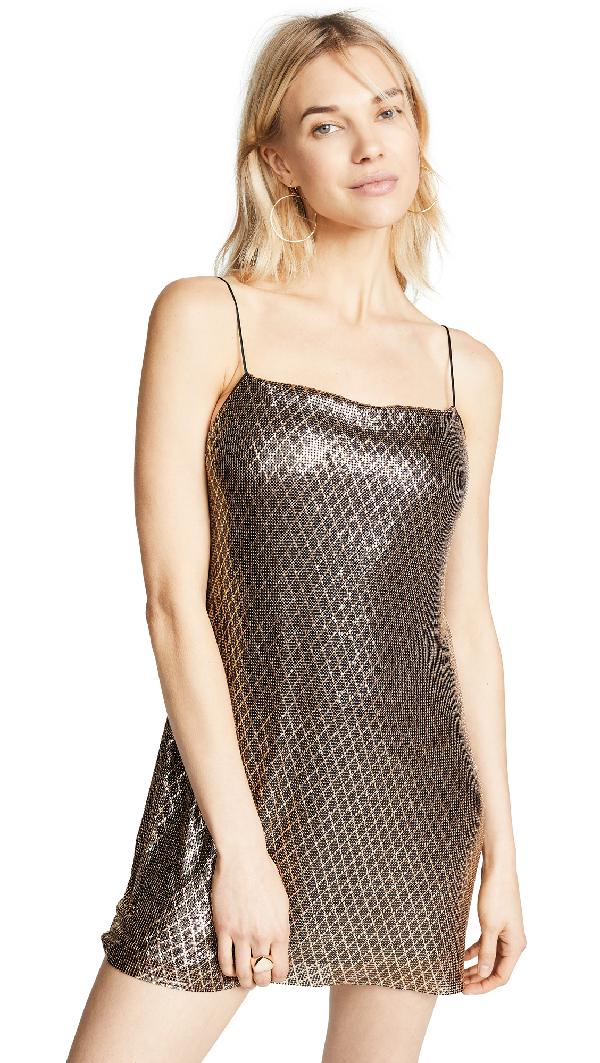 65d30527e80 ALICE AND OLIVIA. Harmony Chainmail Mini Slip Dress ...