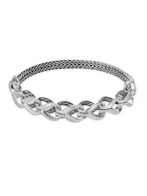 John Hardy Chain Sterling Silver Bracelet