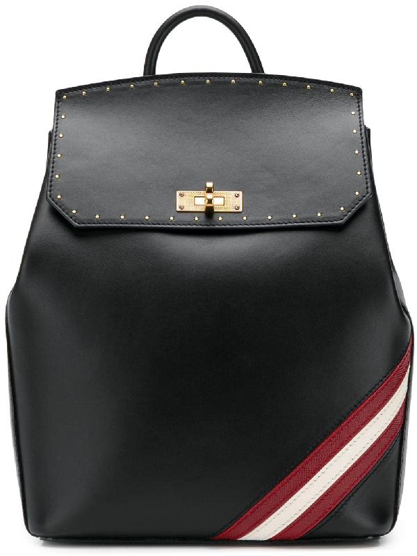 085a248171 Bally Twist Lock Backpack - Black