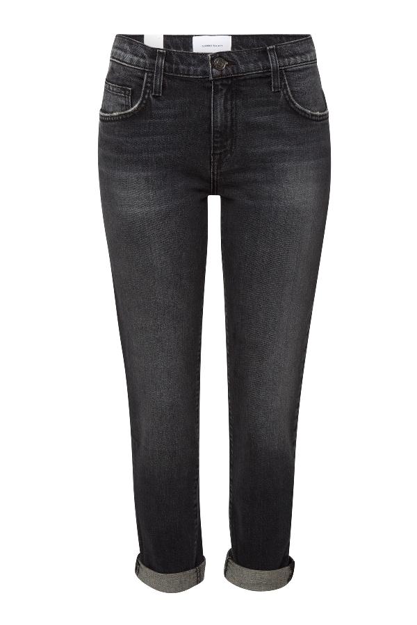 Current Elliott The Fling Straight Leg Jeans In Grey