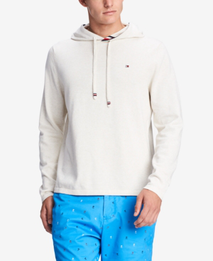 ea706351 Tommy Hilfiger Men's Signature Hoodie, Created For Macy's In Snow White