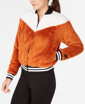 14e42a9cb Sportswear Fleece Bomber Jacket in Dark Russet/Sail