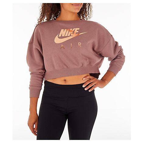nike air crop crew sweatshirt