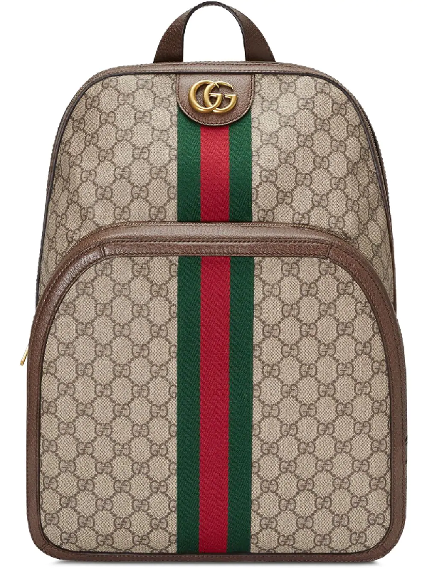 9a8bf3678303 Gucci Men's Gg Supreme Medium Canvas Backpack In 8994 Beige | ModeSens