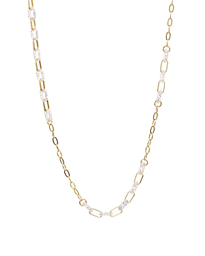 Rebecca Minkoff Resin Station Necklace, 41 In Gold