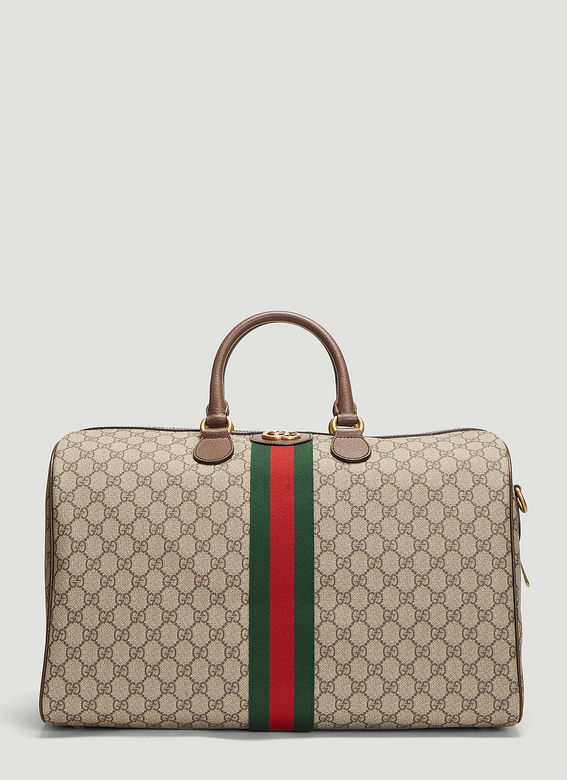2b1d37993c0 Gucci Ophidia Gg Medium Carry-On Duffle Bag In Beige