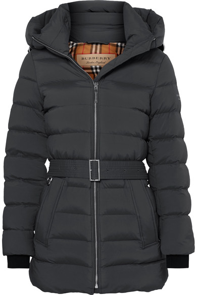 7a8609aa5 BELTED QUILTED SHELL DOWN COAT