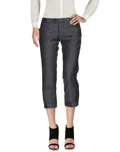 Dsquared2 Cropped Pants & Culottes In Lead