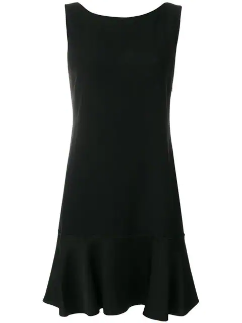 e19acc1bec Theory Kensington Flirty Flare Dress In Black. SIZE & FIT INFORMATION