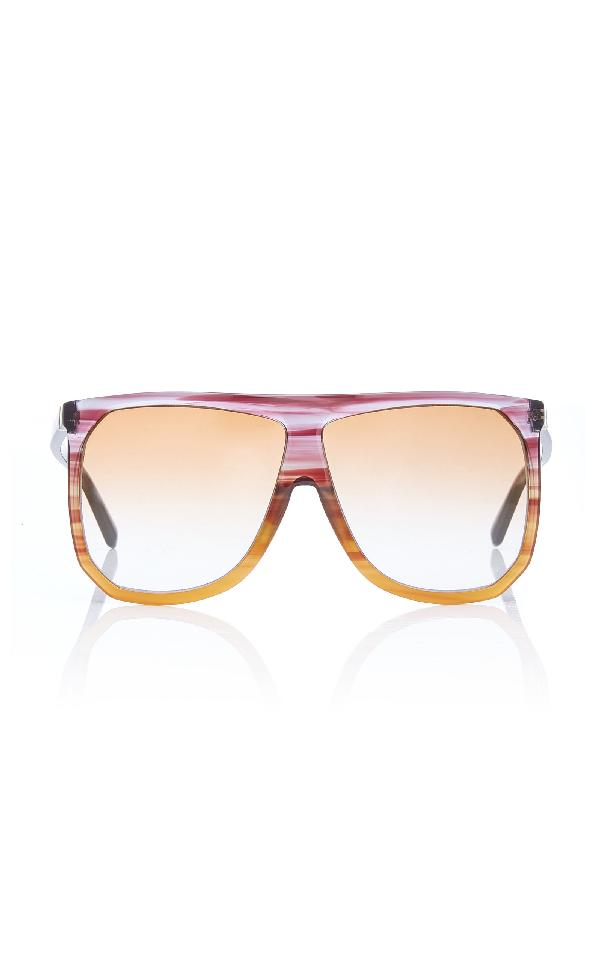 fa52f68367 Loewe Sunglasses Filipa Two-Tone Acetate Sunglasses In Purple