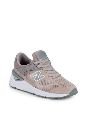 fe9d32bd77e85 New Balance Womens X90 Sneakers In Flat White | ModeSens