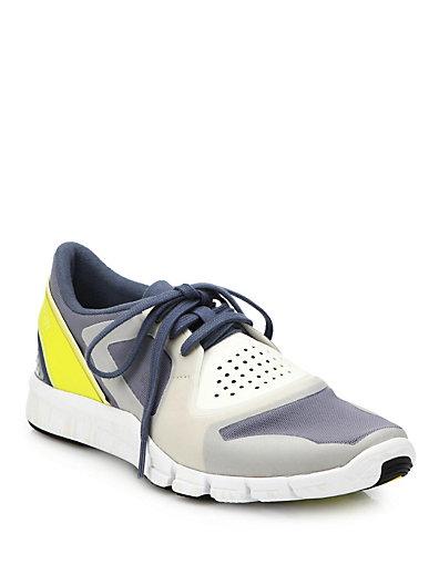 Adidas By Stella Mccartney Alayta Stud Sneakers In Blue-Multi