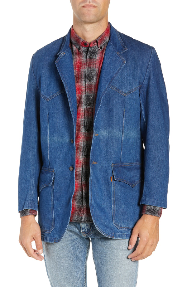 08aa47f2aaaf4d Levi's Vintage Clothing Denim Sport Coat In Scorcher | ModeSens