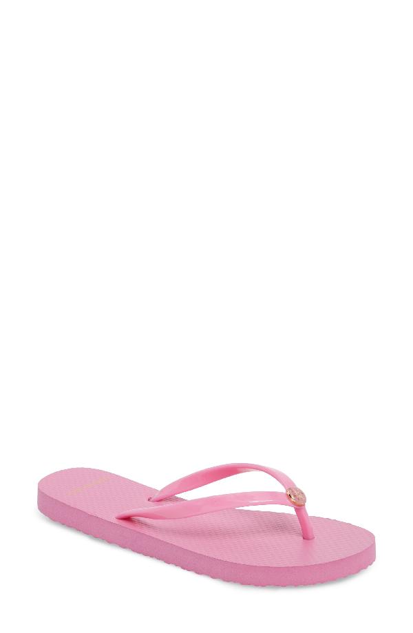 sale retailer 547da 07255 Logo Flip Flop in Magnolia Rosa