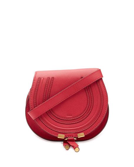 56bda806f1 ChloÉ 'Mini Marcie' Leather Crossbody Bag In Tulip Red   ModeSens