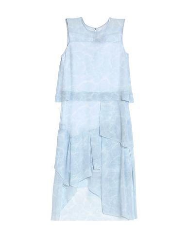 Belstaff Midi Dress In Sky Blue