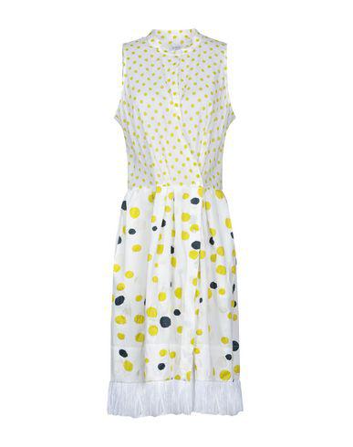 Sara Roka Knee-length Dress In White