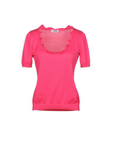 Moschino Cheap And Chic Sweater In Fuchsia
